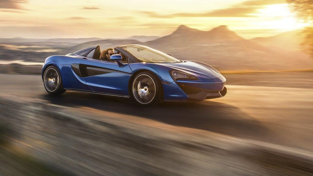 McLaren 570S Spider: io non ingrasso