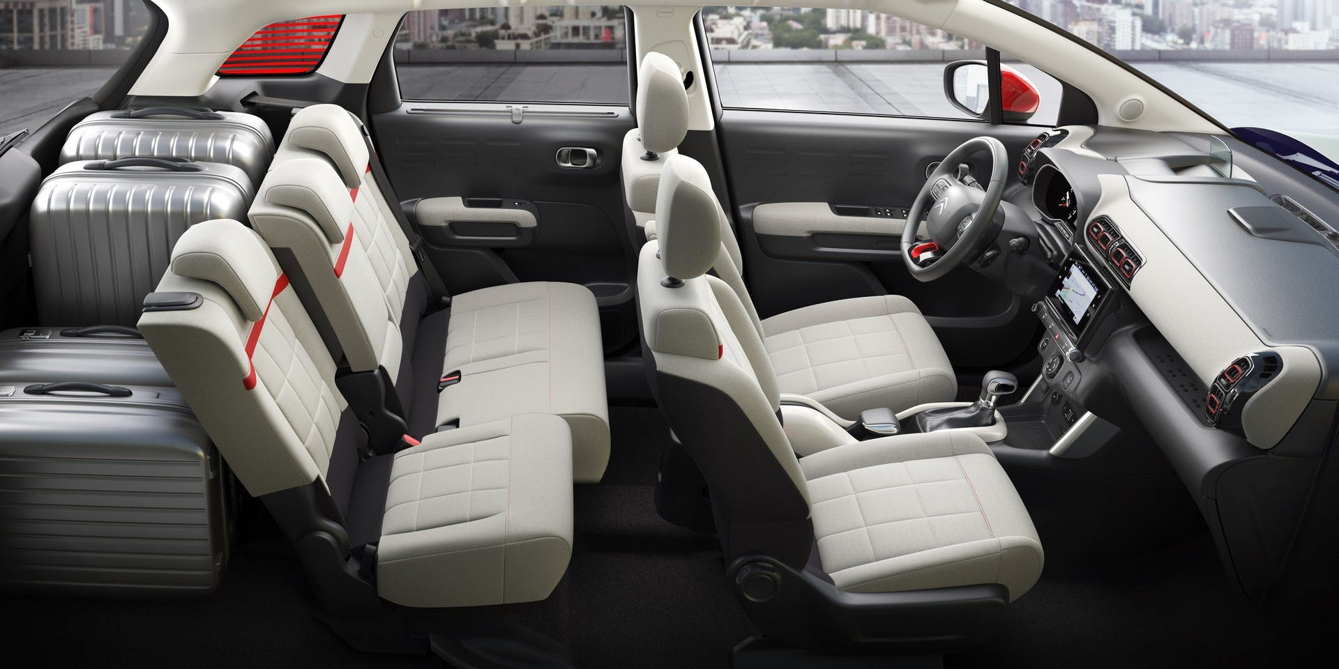 Citroën C3 Aircross interni