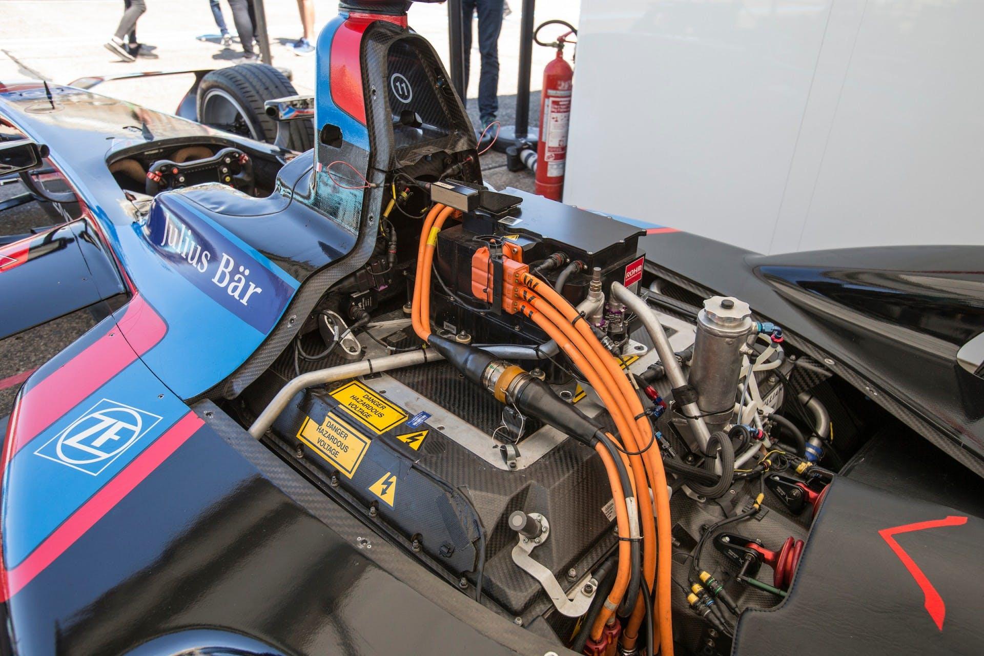 Formula E Venturi dettaglio motore