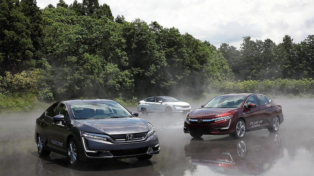 Honda Clarity Fuel Cell: 589 km d'autonomia reale