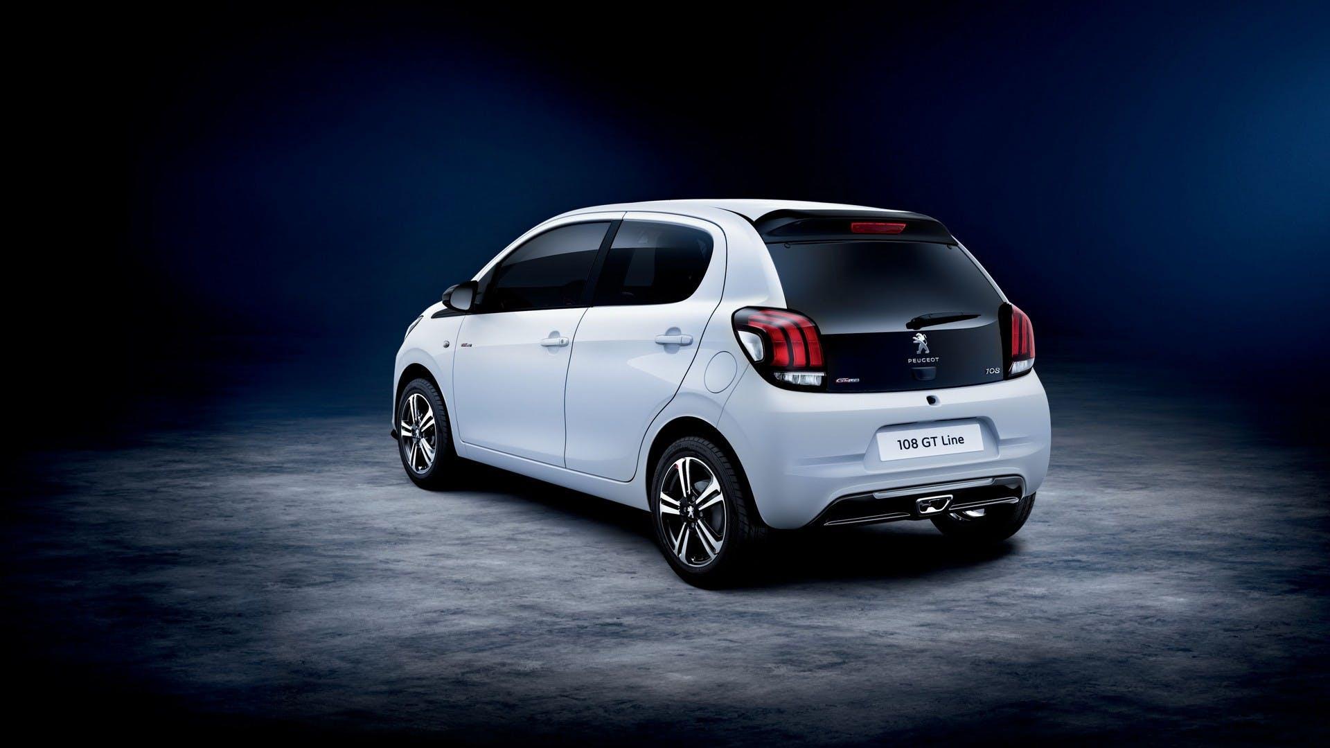 Peugeot-108-GT-Line bianca