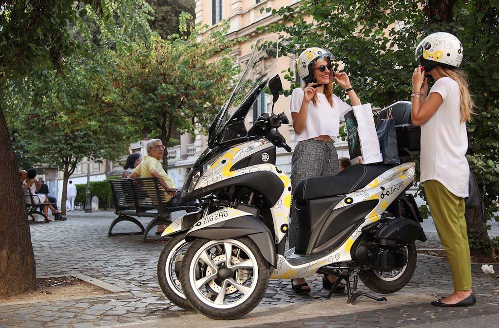 Zig Zag Scooter Sharing arriva a Milano… nel 2018