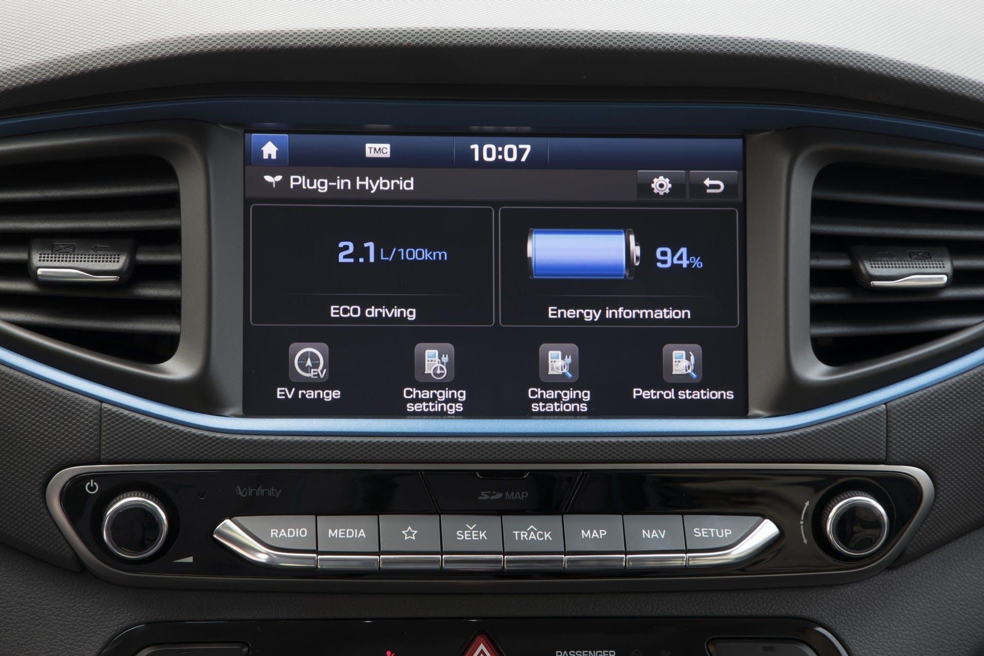 Hyundai Ioniq Plug-in interni