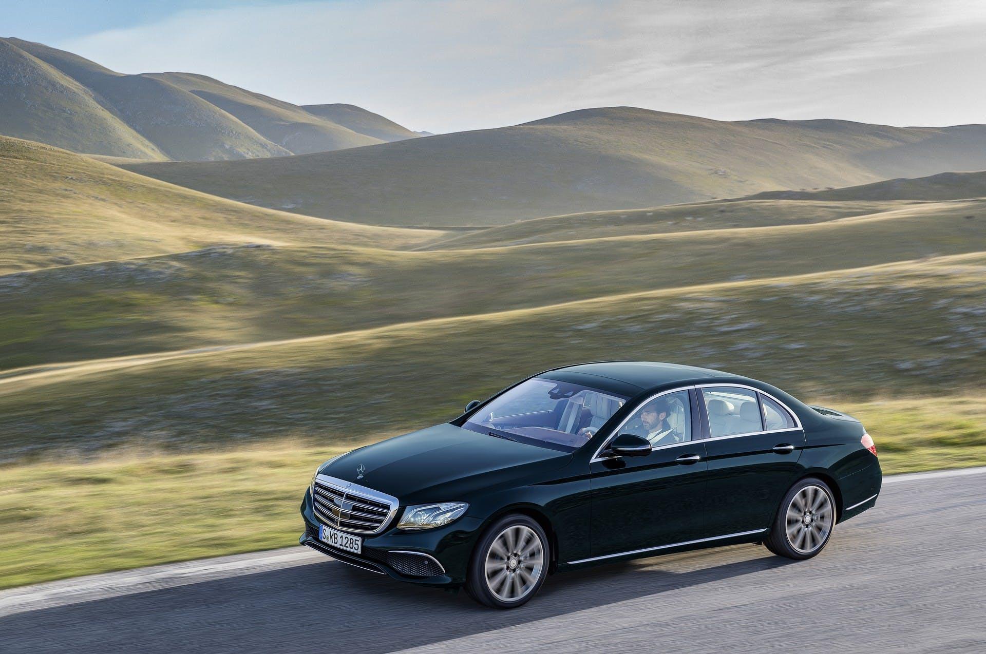 Mercedes-Benz Classe E statica