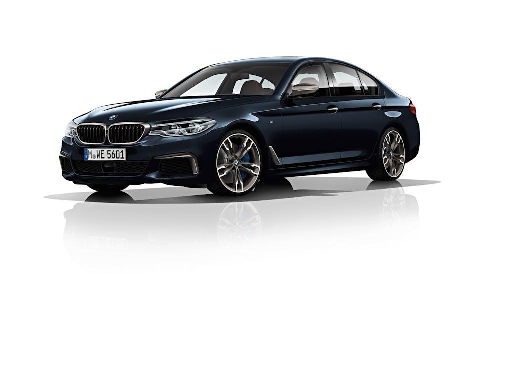 BMW M550d xDrive: nafta che scotta