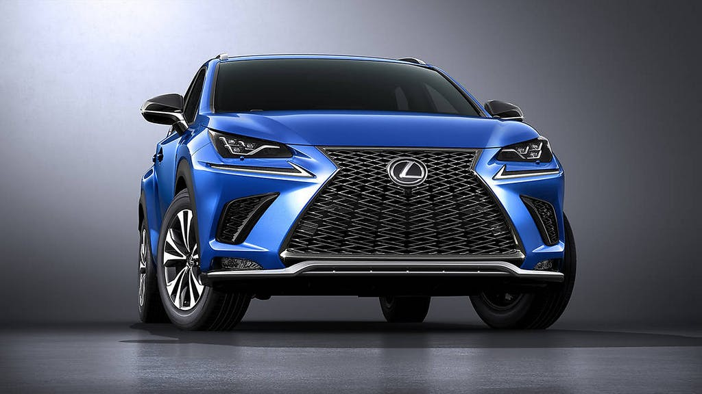 Lexus NX: il restyling è sportivo
