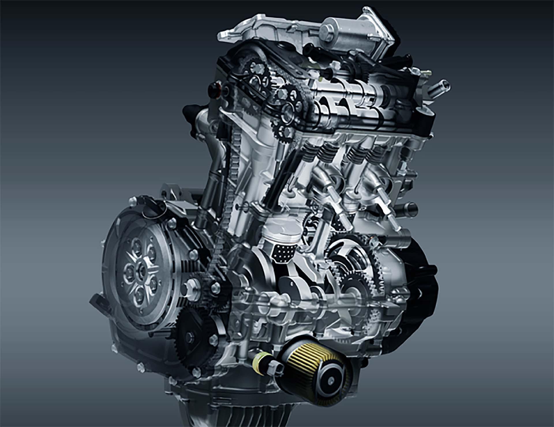 Honda CBR 250 RR - motore