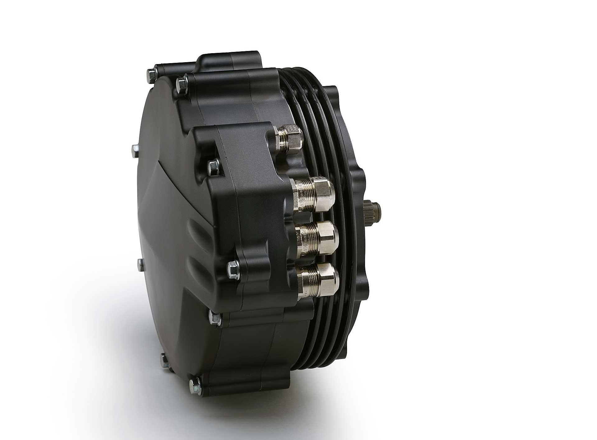 Yamaha TY-E Trial elettrico dettaglio motore elettrico