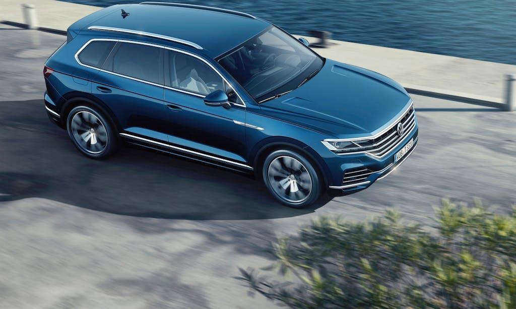 Nuova Volkswagen Touareg, antipasto di futuro