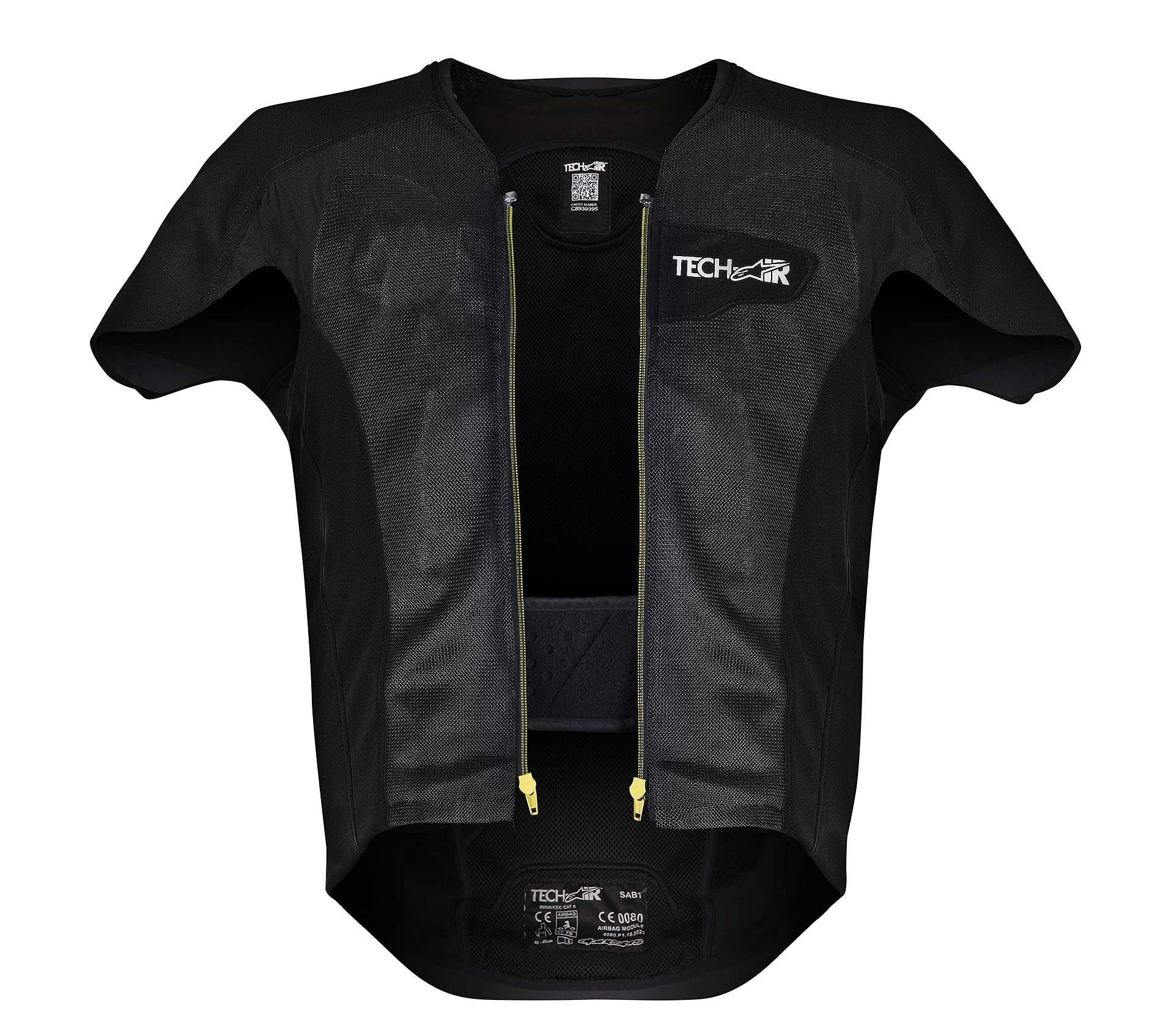 Alpinestars Tech-air airbag da moto protezione dorsale