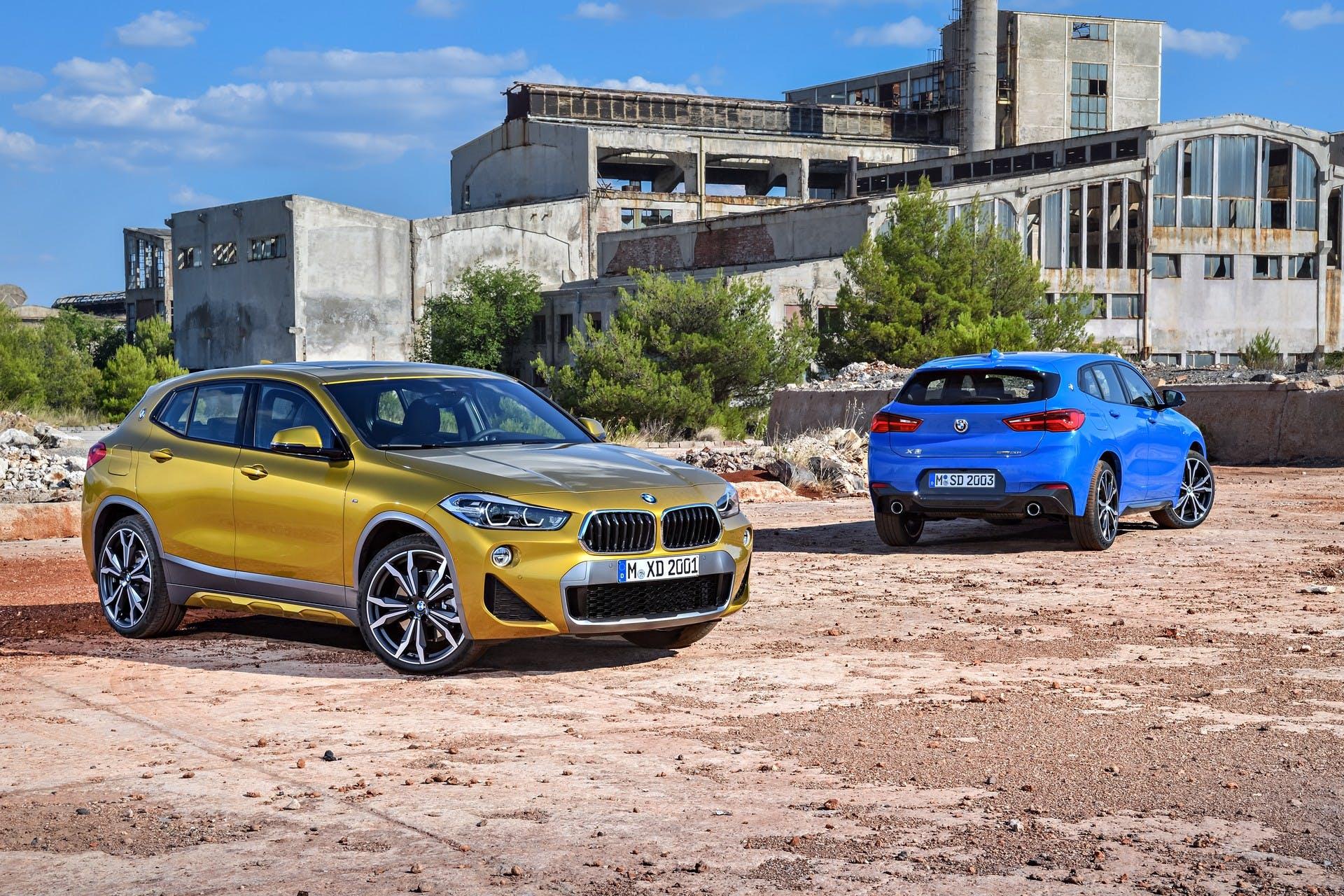 BMW X2 statica