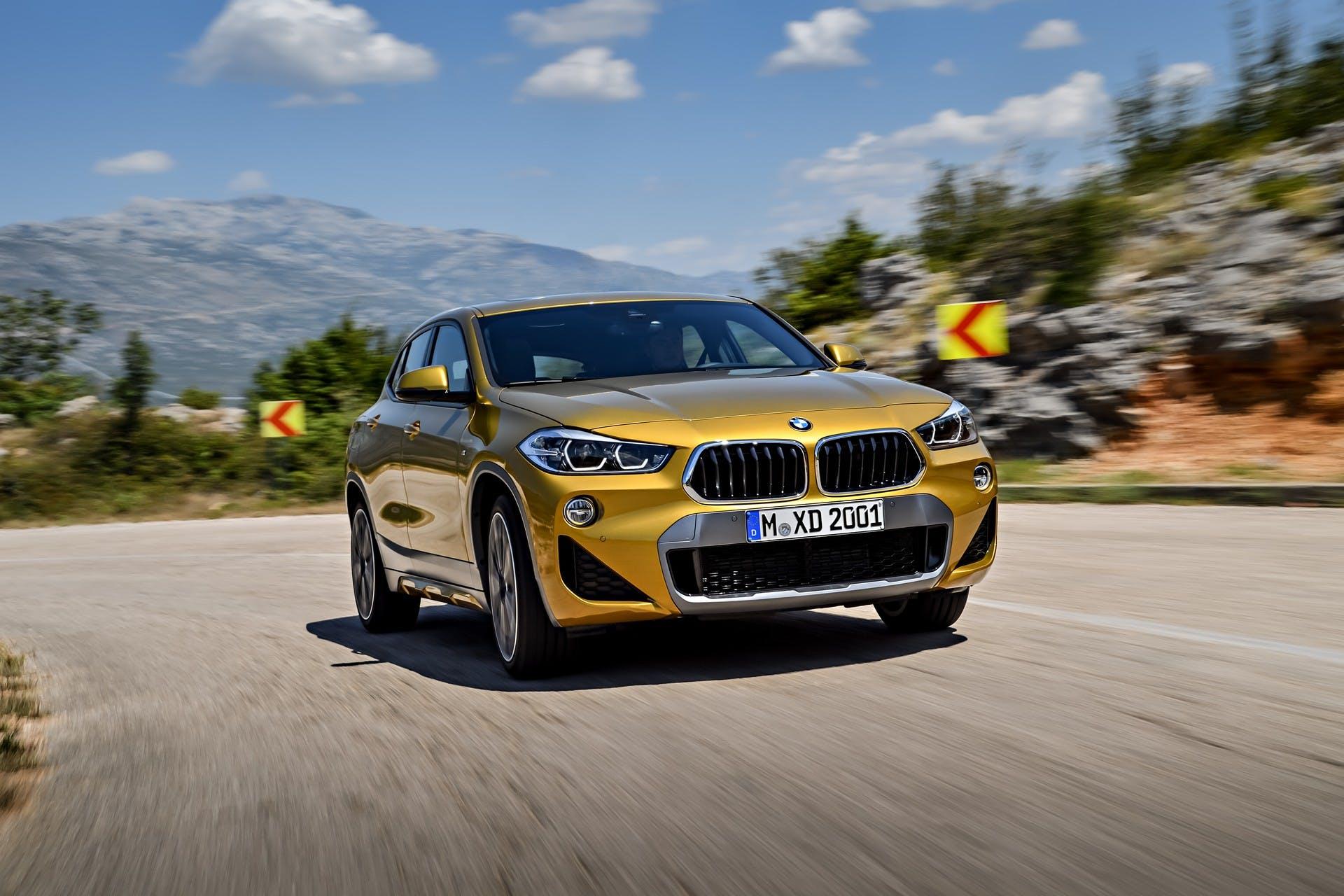 BMW X2 dinamica