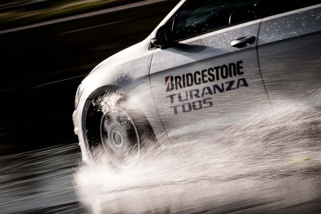 Prova Bridgestone Turanza T005, pioggia non ti temo