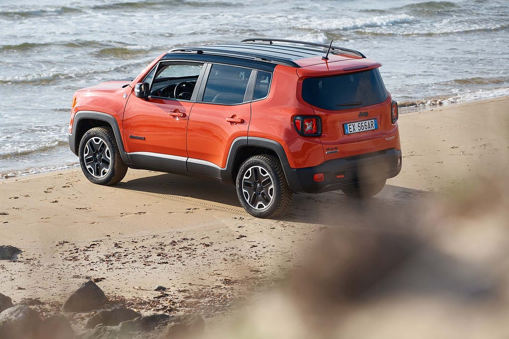 Jeep Renegade model year 2018: affari interni