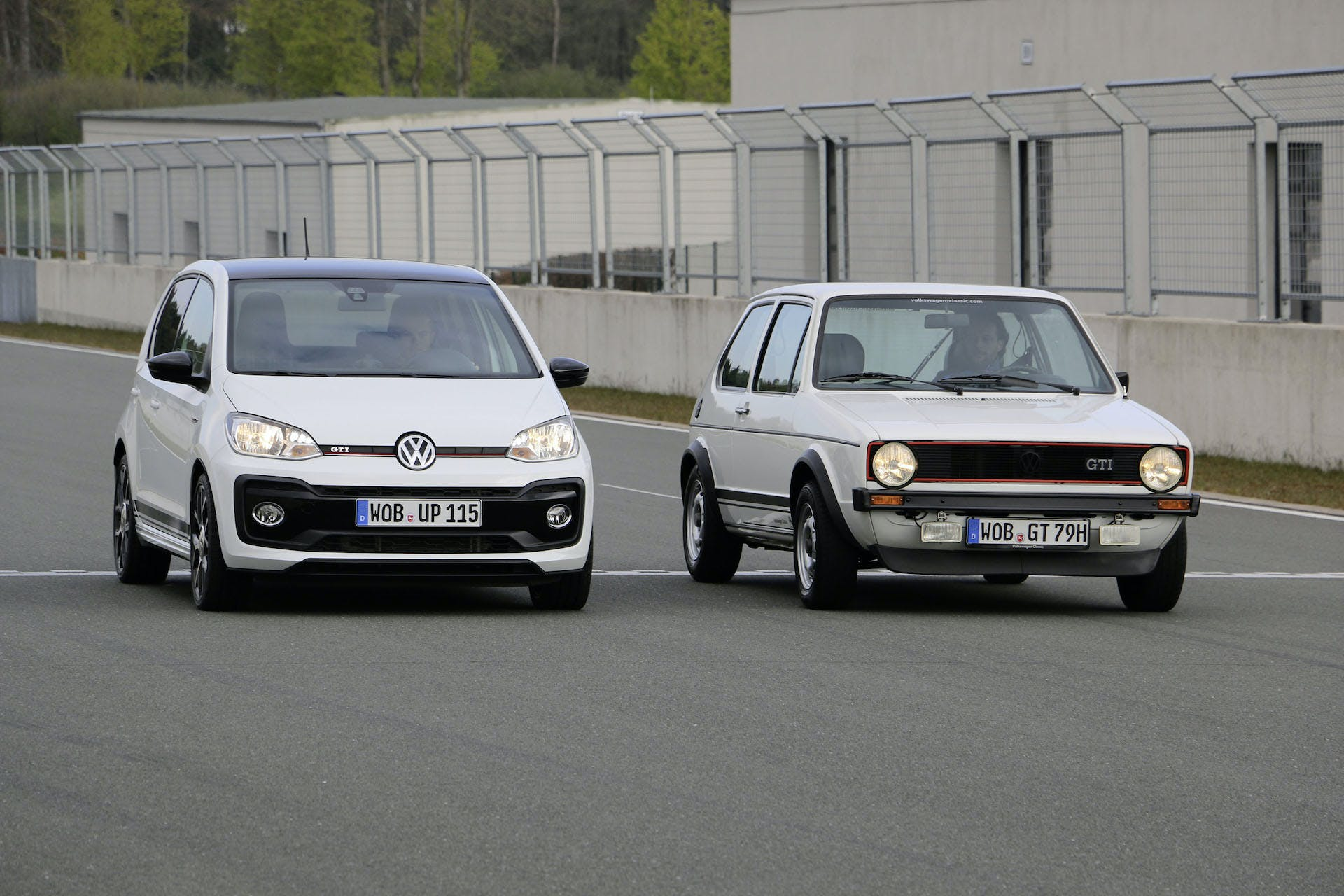 Volkswagen up! GTI Golf GTI I sfida accelerazione