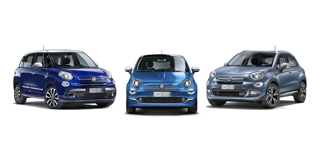 Fiat 500 Mirror, a tutta multimedialità