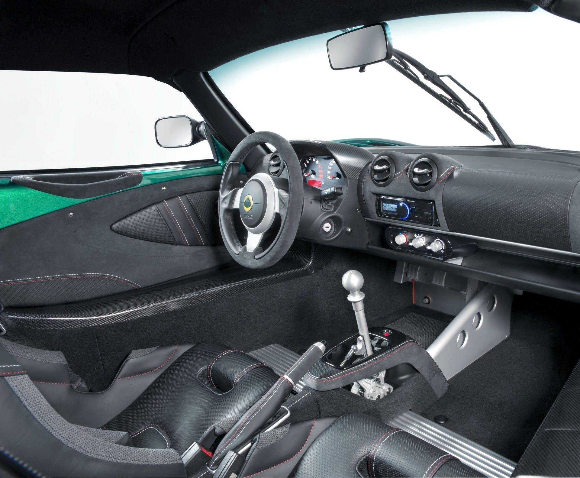 Lotus Exige Cup 430 interni