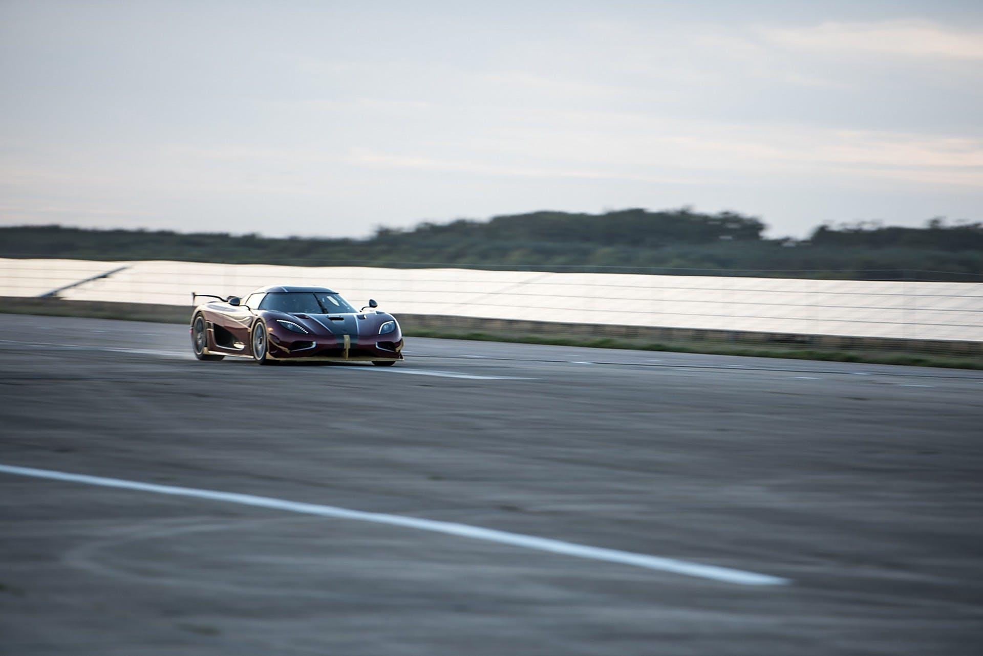 Koenigsegg Agera RS dinamica