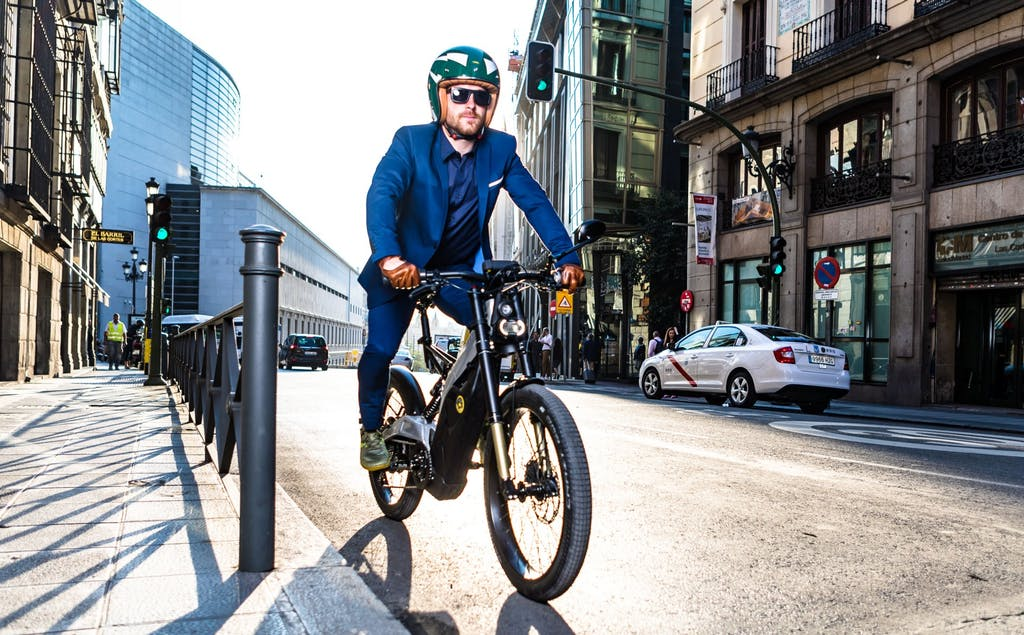 Bultaco Albero 4.5, green power