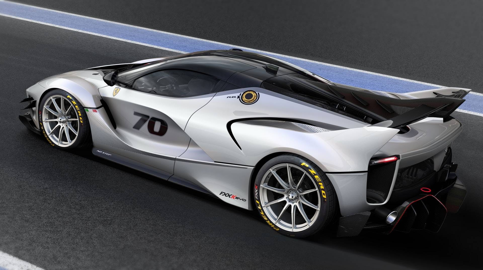 Ferrari FXX-K Evo dinamica