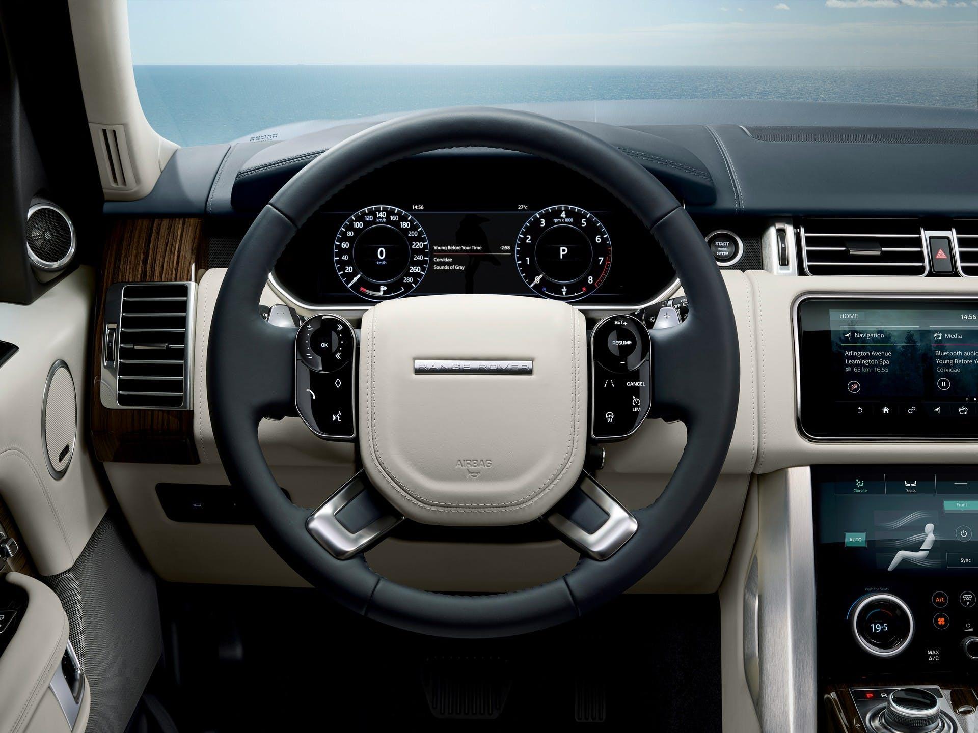 Range Rover 2018 interni