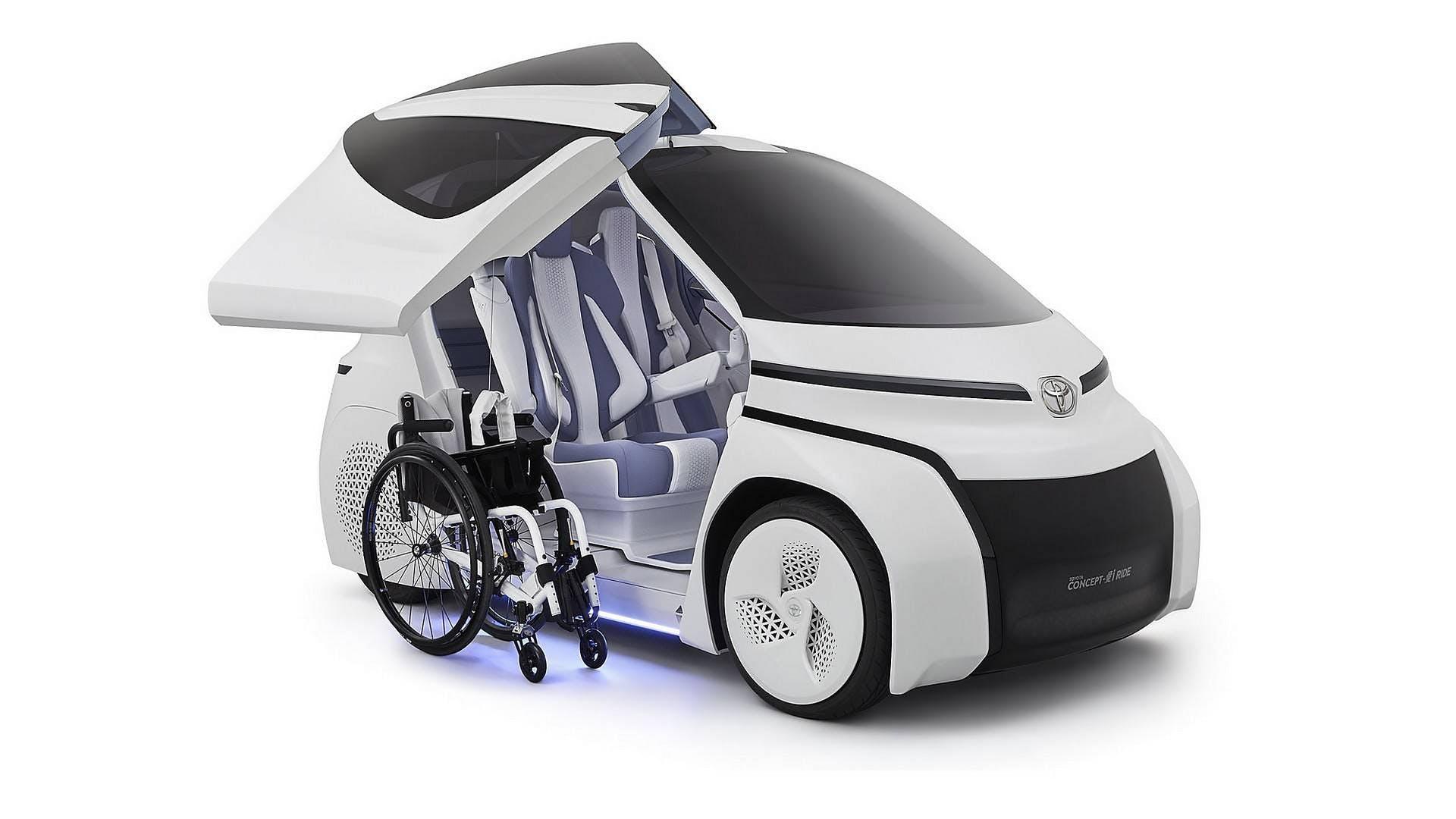 Toyota Concept-i Ride statica