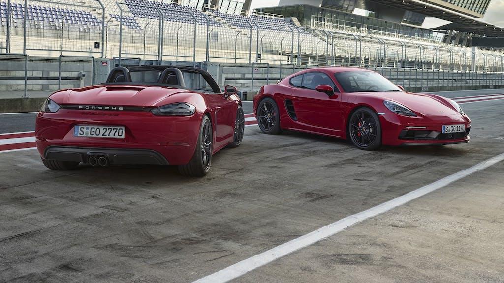 Porsche 718 Boxster GTS e Cayman GTS: generazione turbo