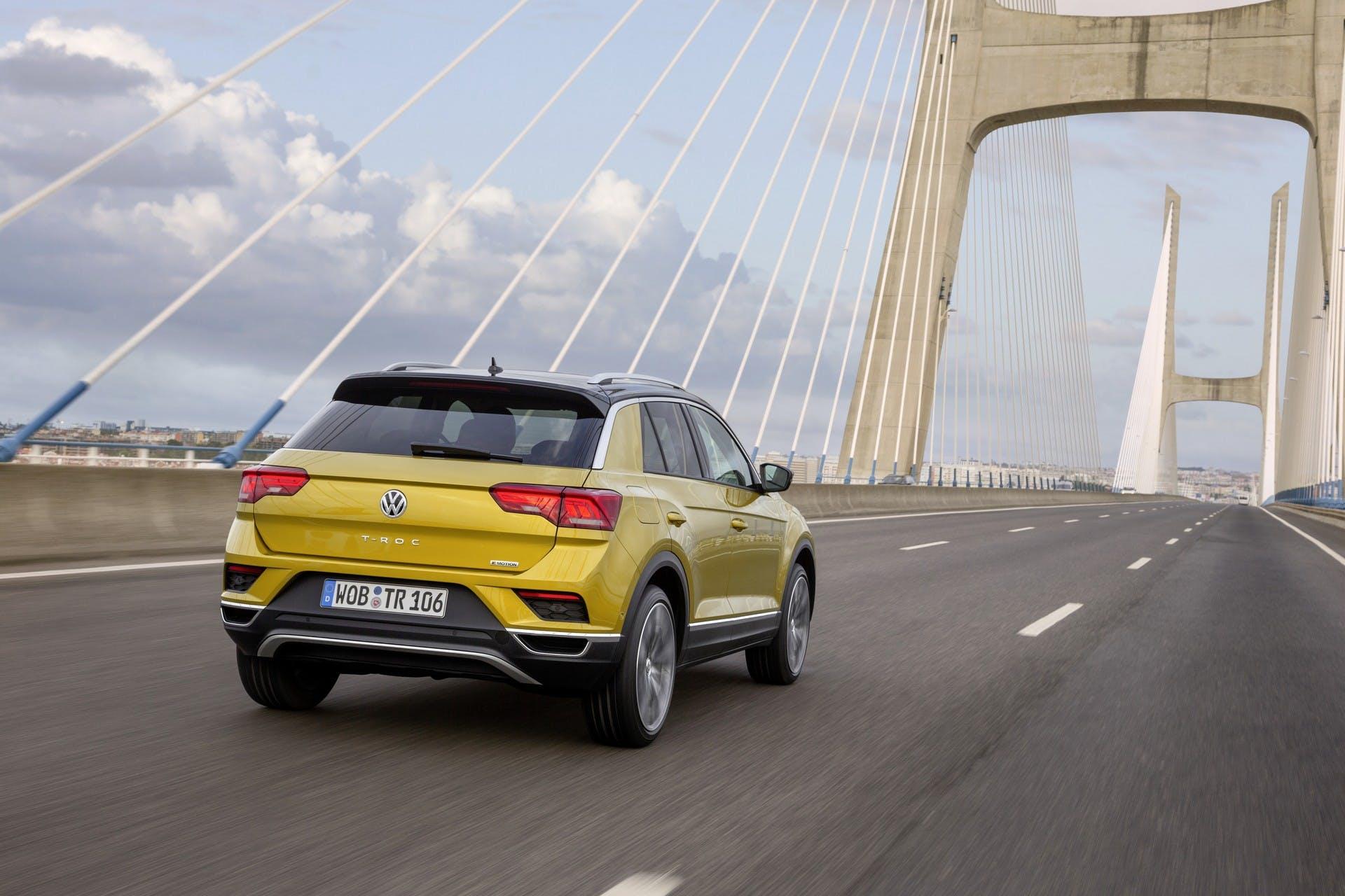 Volkswagen T-Roc dinamica