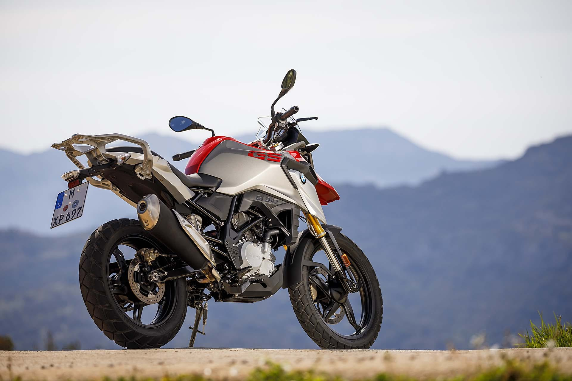 BMW G 310 GS 3/4 posteriore dx