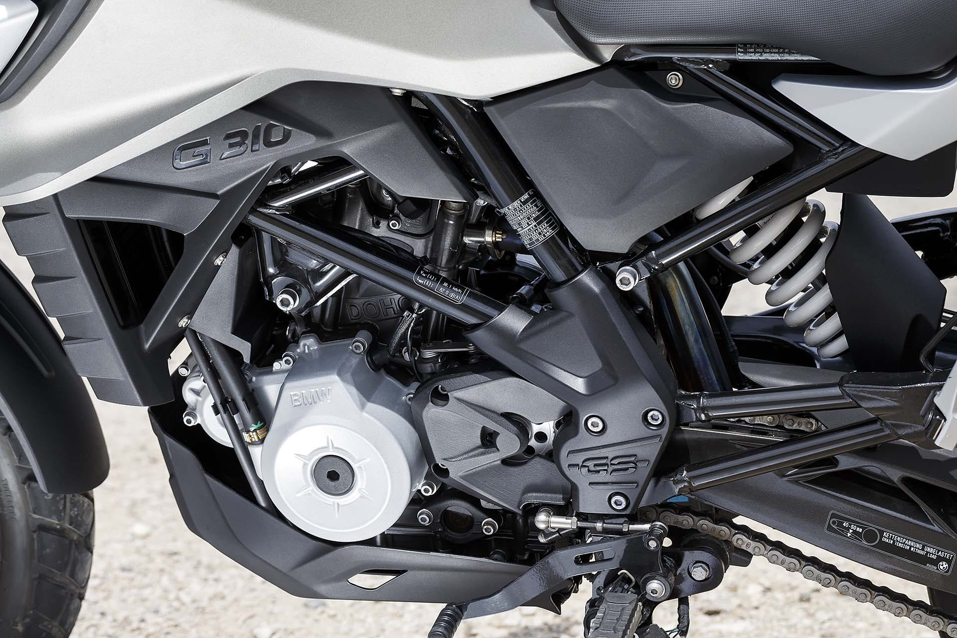 BMW G 310 GS motore