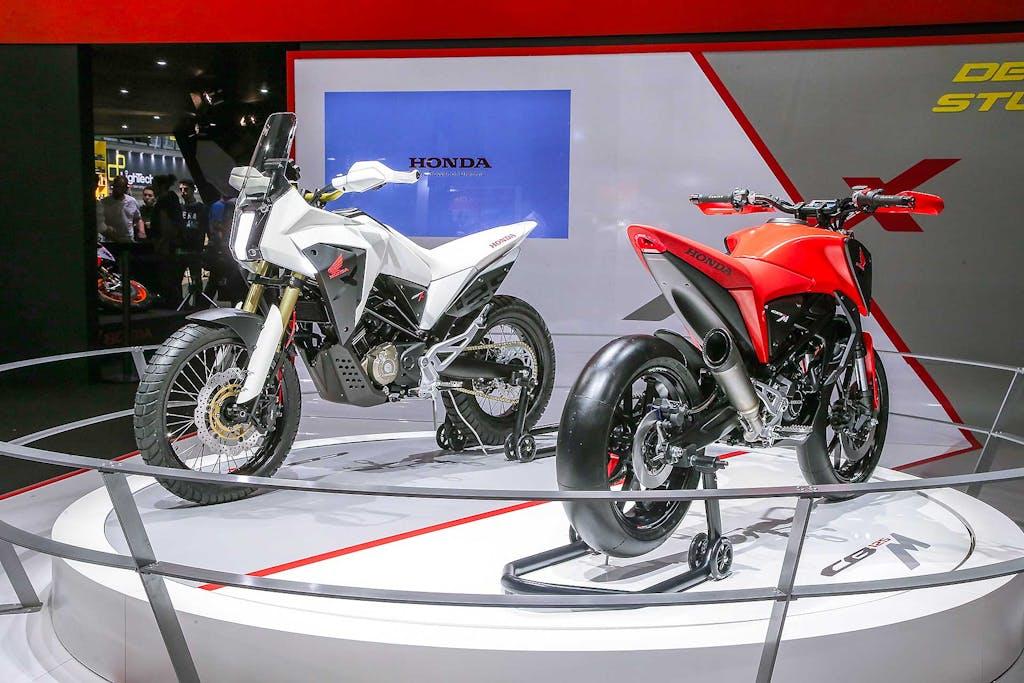 Honda CB125M e CB125X Concept, sogno adolescenziale