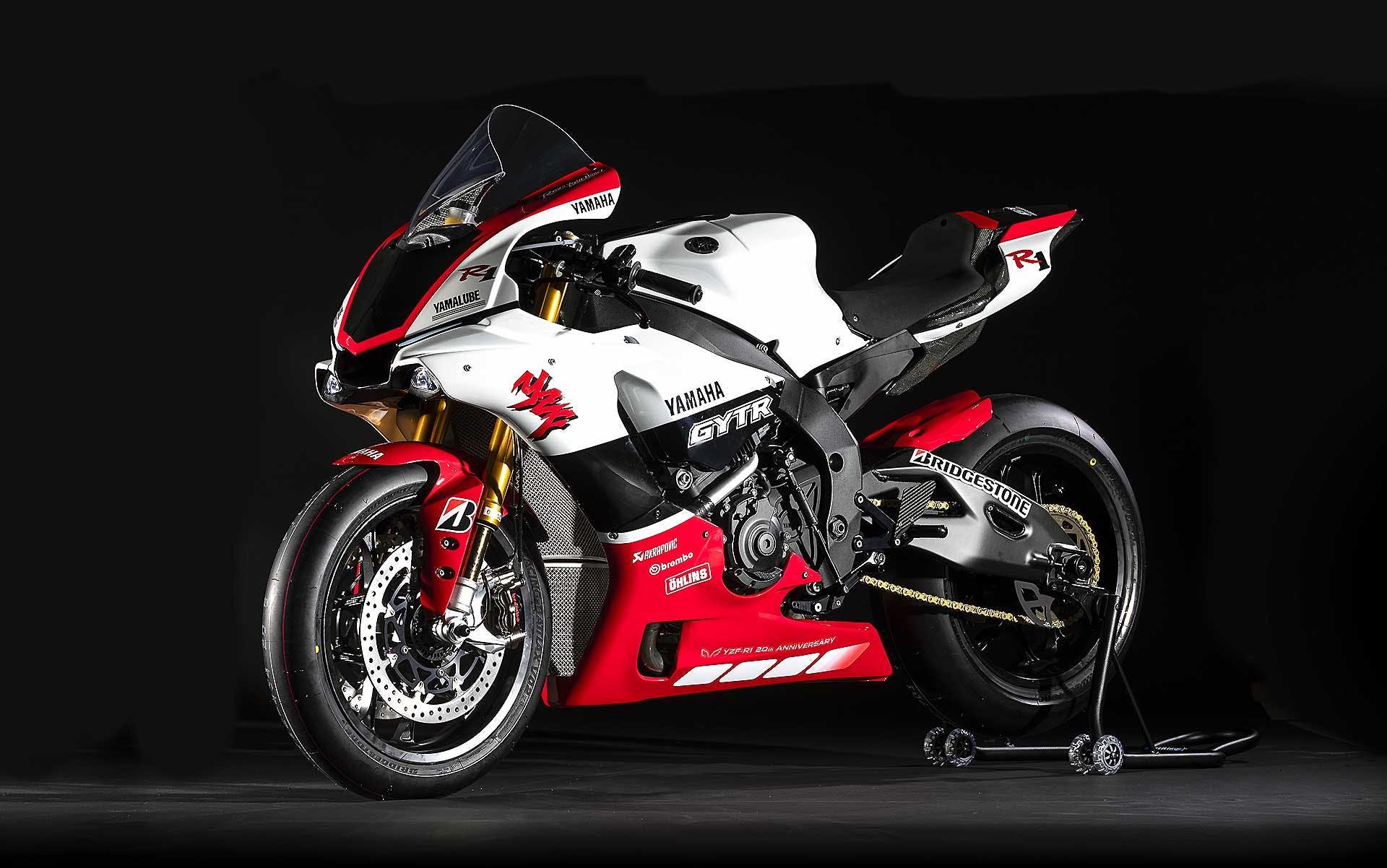 Yamaha R1 GYTR 20 anniversario