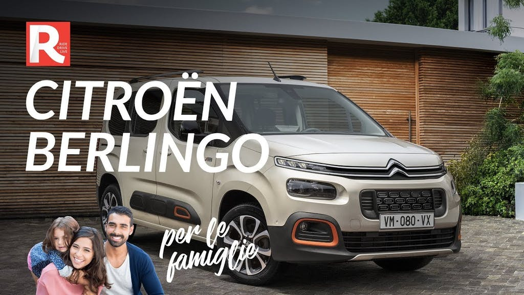 Citroën Berlingo 2018, da veicolo commerciale ad auto per le famiglie