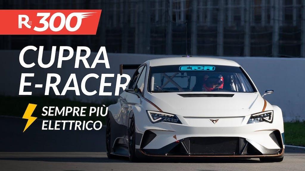 Cupra e-Racer per il campionato turismo elettrico, Audi R8 e Trumph Scrambler 1200 – RED300 n°8