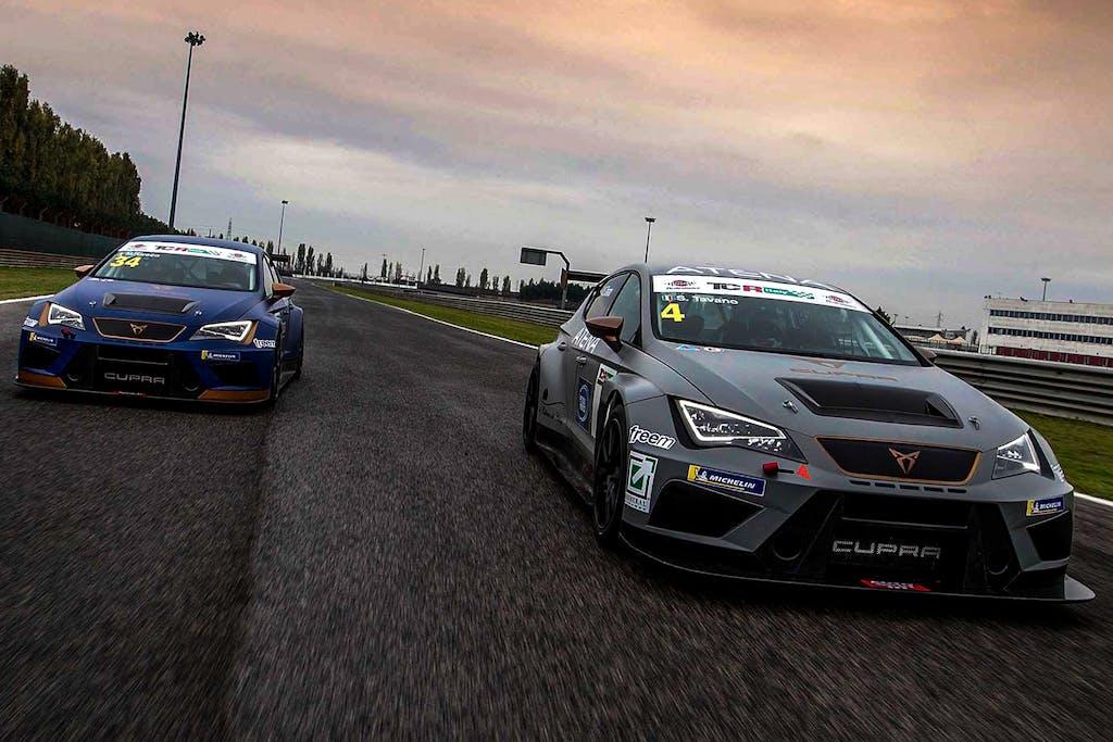 Prova in pista Seat Leon Cupra TCR