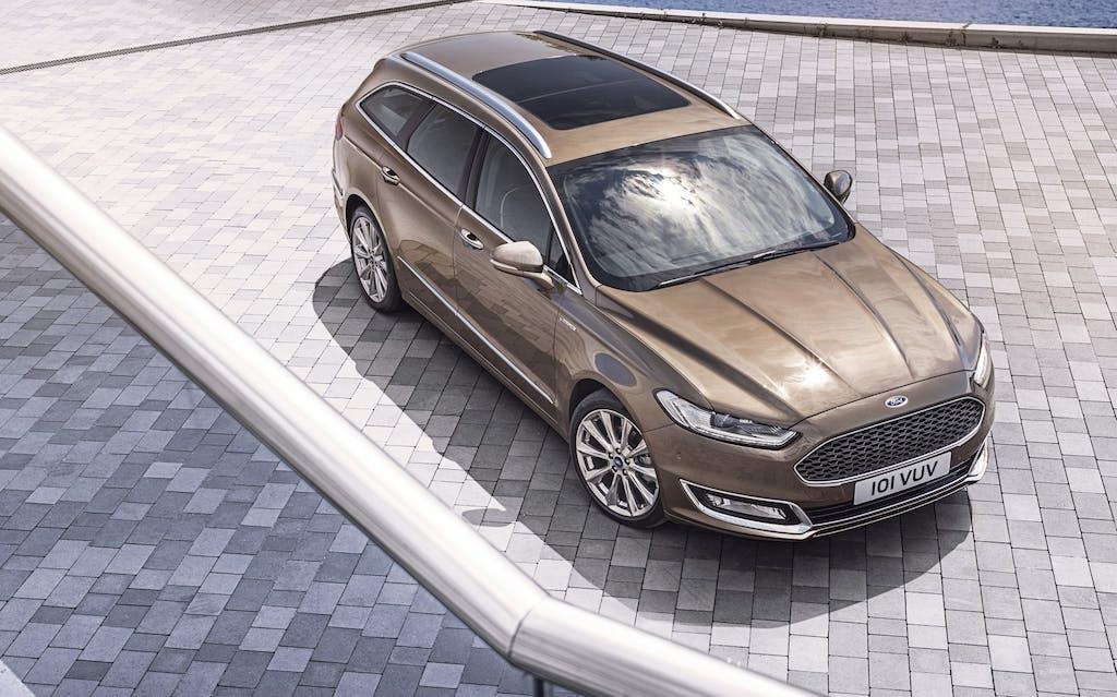 Ford Mondeo Hybrid Wagon, l'ibrida è da famiglia