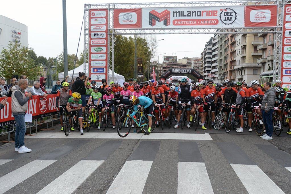 Milano Ride Deejay 100, a tutta velocità
