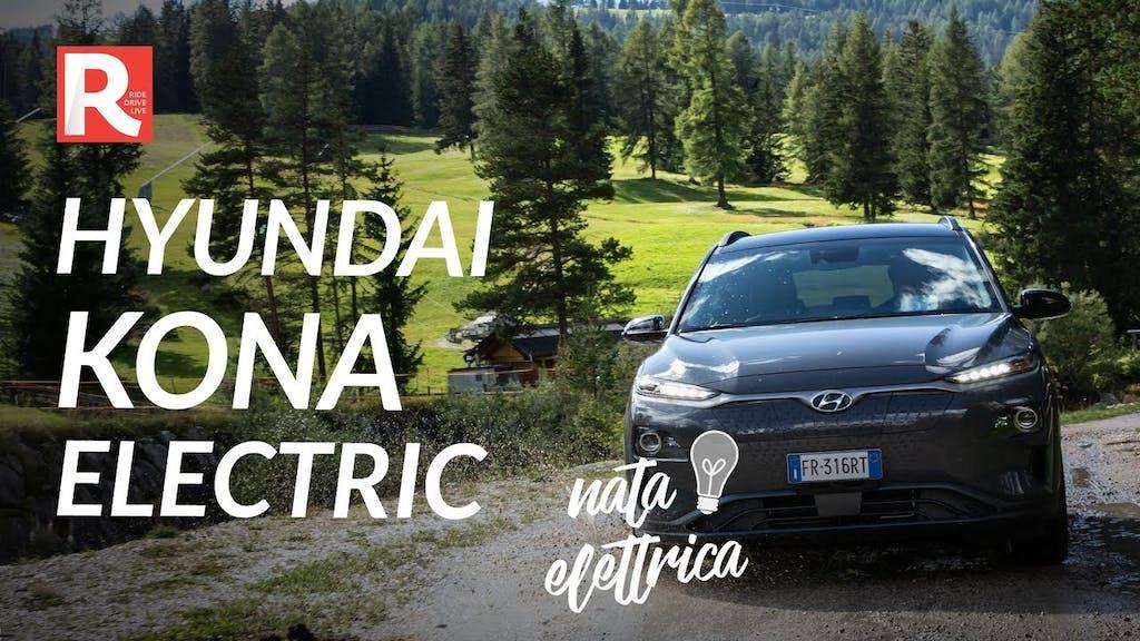 Prova della Hyundai Kona Electric, la B SUV elettrica dalla nascita