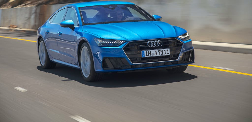 Audi A7 Sportback, ecco il 4 cilindri TDI mild-hybrid