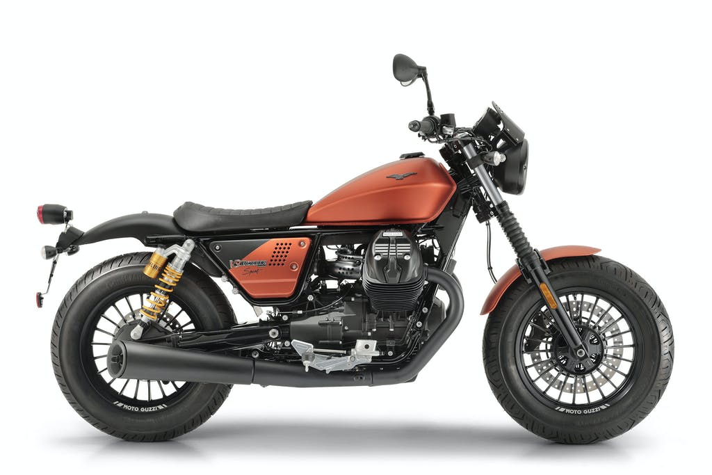 Moto Guzzi V9 Bobber Sport, serie speciale al peperoncino