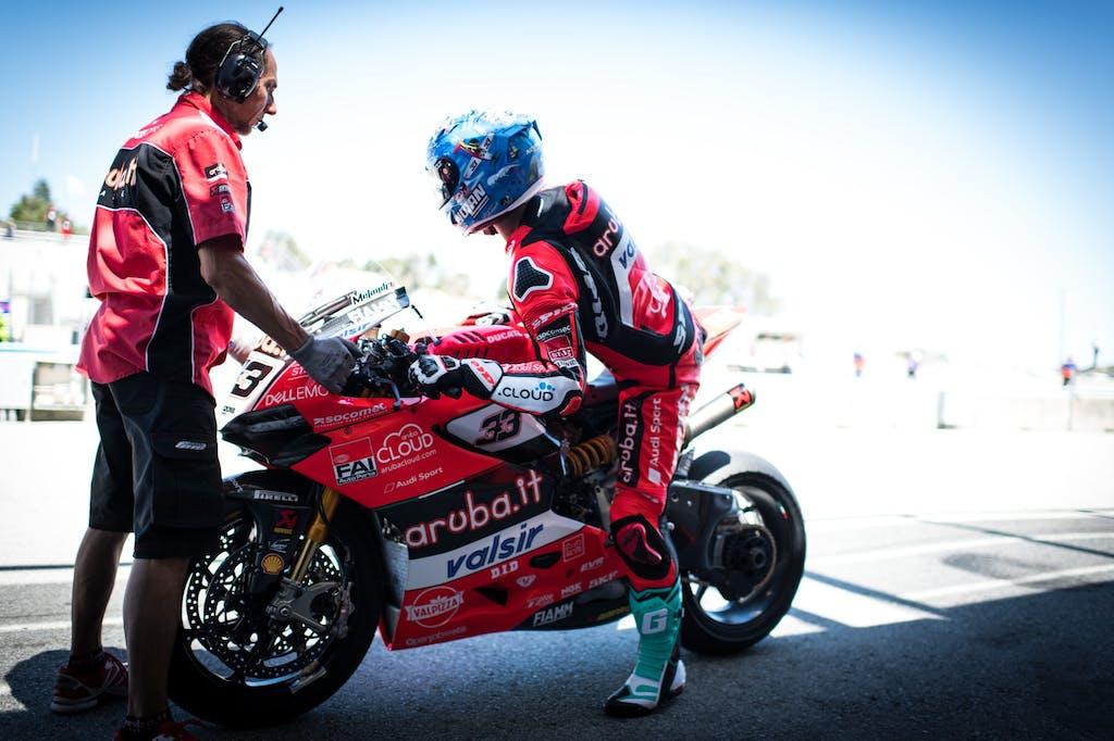 Aruba.it Racing Ducati e WD-40, insieme al vertice