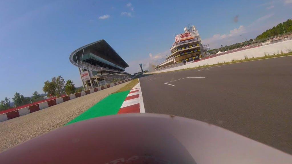 Video on board nella Coppa MV Agusta F3 sulla F3 675 a Barcellona (Montmelò)