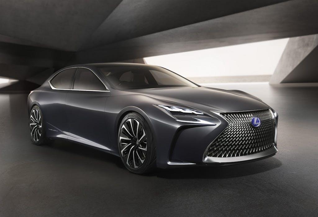Lexus LF-FC: il lusso sposa l'idrogeno