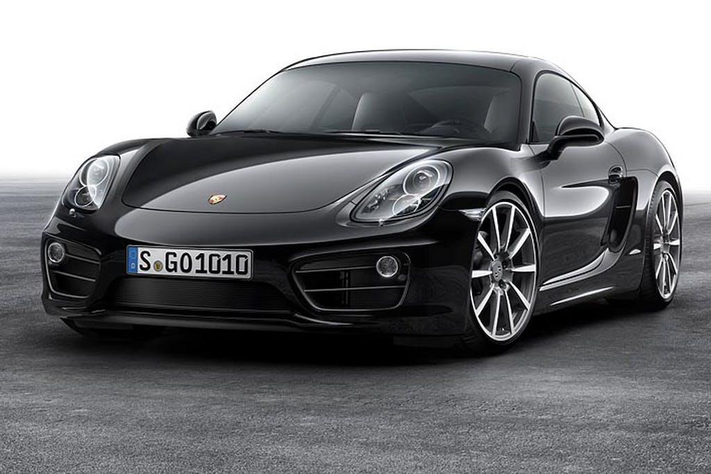 Porsche Cayman Black Edition: il nero le dona