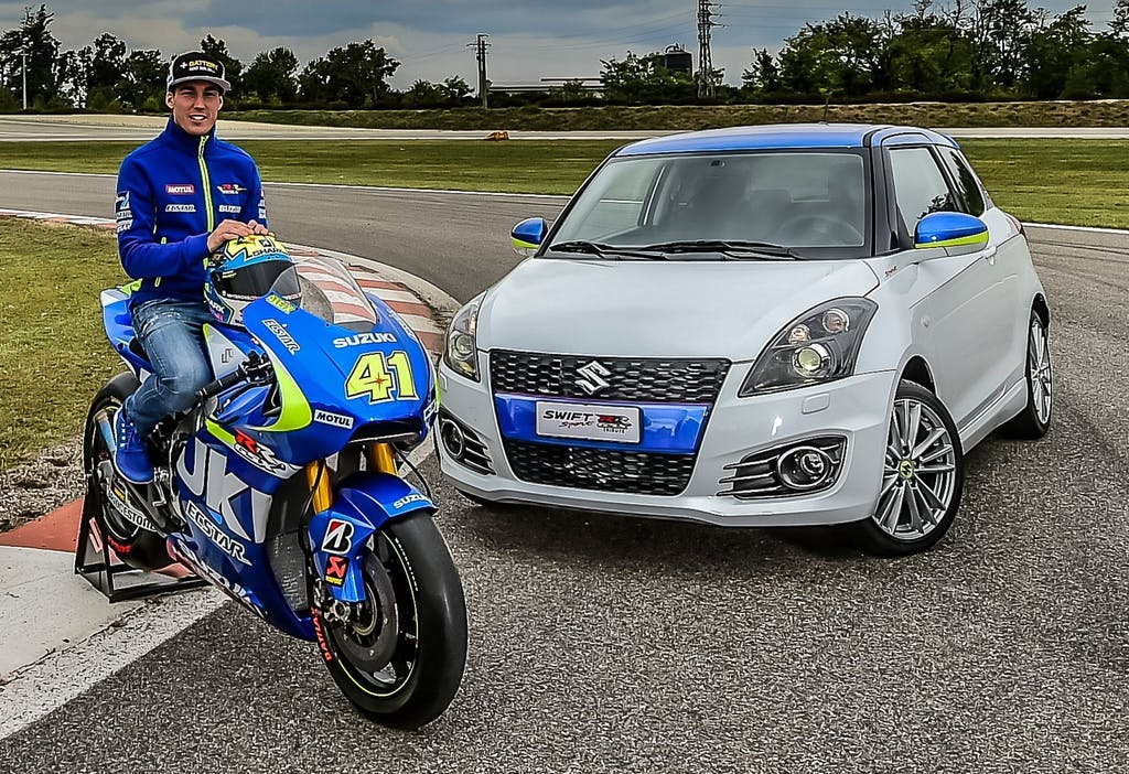 Suzuki Swift GSX-RR Tribute: anima da MotoGP