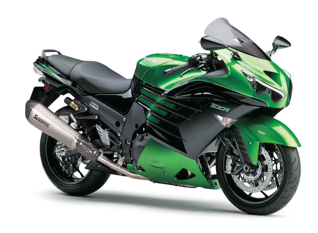 Kawasaki ZZ-R1400 2016, Brivido verde