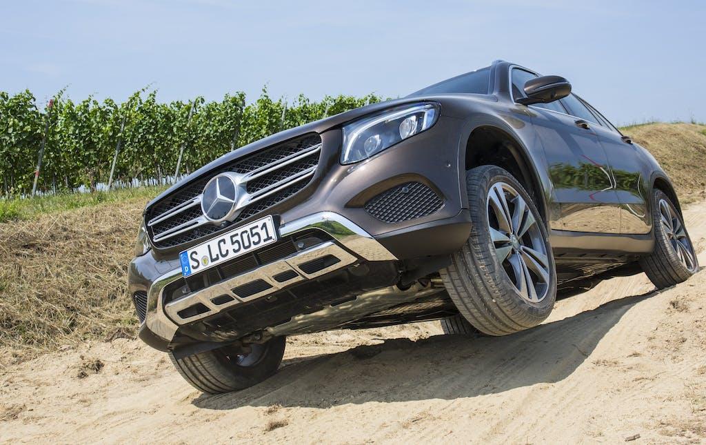Mercedes-Benz GLC, il primo assaggio