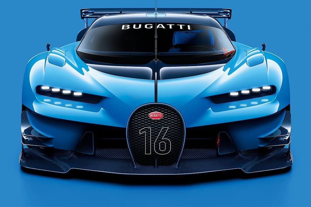 Bugatti Chiron: le linee della Vision GT?