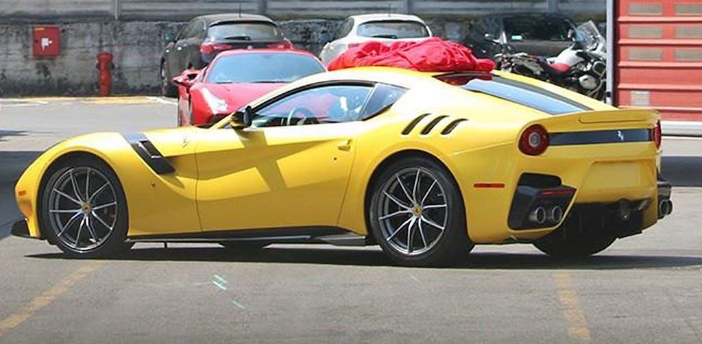 Ferrari F12 GTO: Speciale in tutto