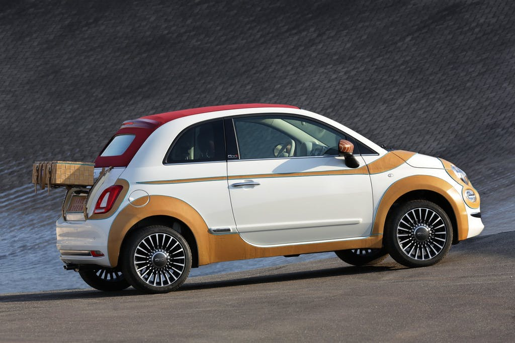 Fiat 500C MY16: si svela per beneficenza